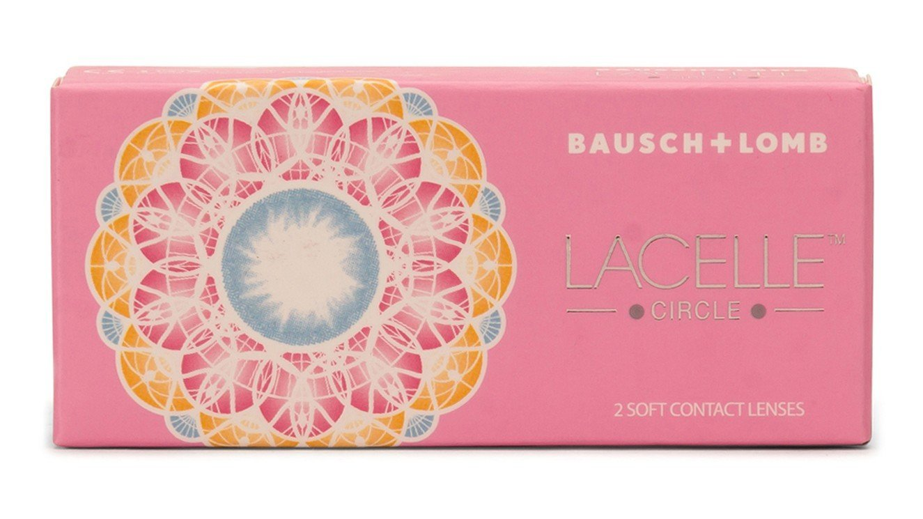e4248e62883 Bausch   Lomb Lacelle Circle Yearly Color Contact Lens (Grey) product image