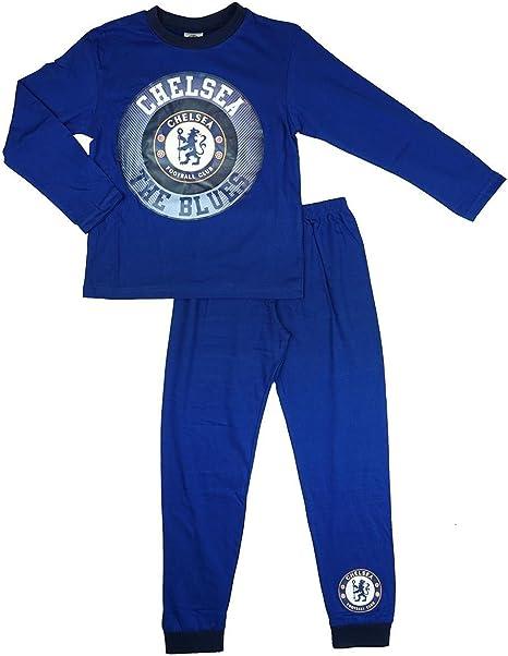 Chelsea Football Club All in One Sleepsuit Boys Dressing Gown Pyjamas