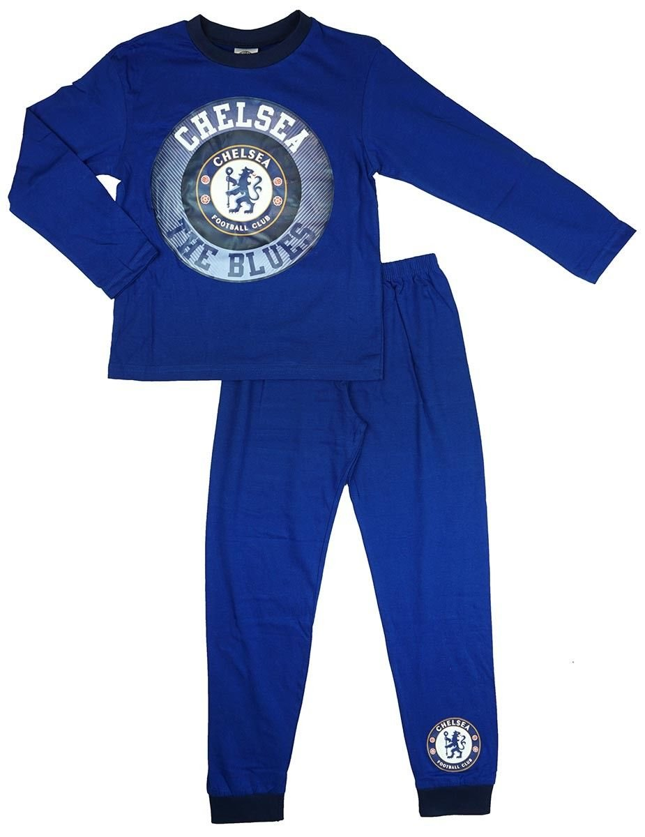 Chelsea FC Official Soccer Gift Boys Kids Baby Pajamas