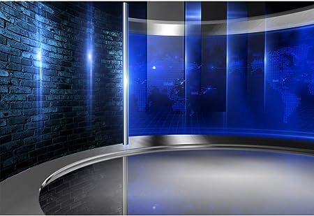 Csfoto Studio Hintergrund Für Fotografie Konzert Interview Wettervorhersage Programm Dekoration Bildschirme Innendekoration Erwachsene Portraits
