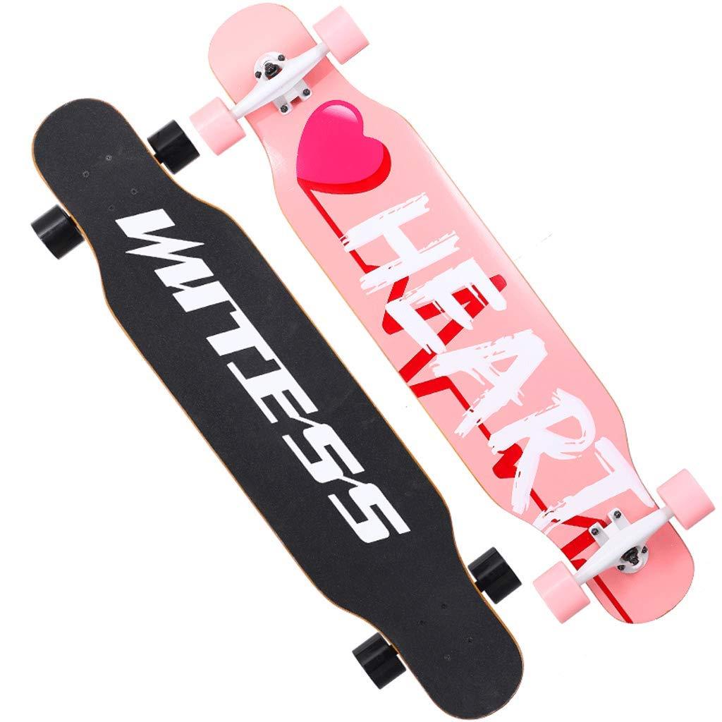【30%OFF】 Weiyue スケートボード- : 初心者スケートボードロングボード大人の男の子と女の子のブラシストリートダンスボードユース四輪スクーター (色 : B, サイズ さいず : : サイズ 107x25x13cm) B07MQXGFSQ B 107x25x13cm, キタミシ:dac0ae39 --- a0267596.xsph.ru
