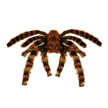 60 x Dekospinnen Halloween Spinnen Halloweendeko Horror Deko Spinne Gruseldeko
