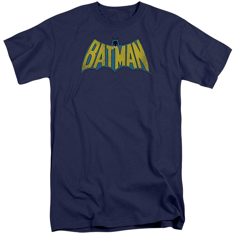 DC Comics Men's Classic Batman Logo Tall T-Shirt