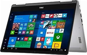 2019 Flagship Dell Inspiron 13 7000 13.3 inches Full HD IPS 2-in-1 Touch-Screen Laptop, Intel Quad-Core i5-8250U 8GB DDR4 256GB SSD Backlit Keyboard Windows Ink MaxxAudio Win 10 (Renewed)