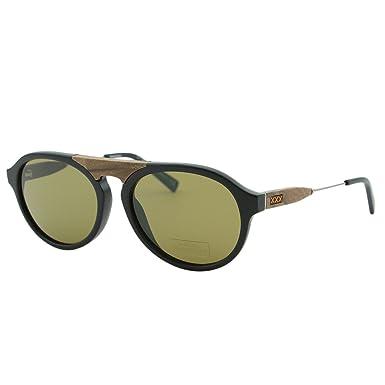 ccee3e224930 Ermenegildo Zegna Couture ZC-0027 Men Round Aviator Barberini Glass  Sunglasses  Ermenegildo Zegna  Amazon.co.uk  Clothing