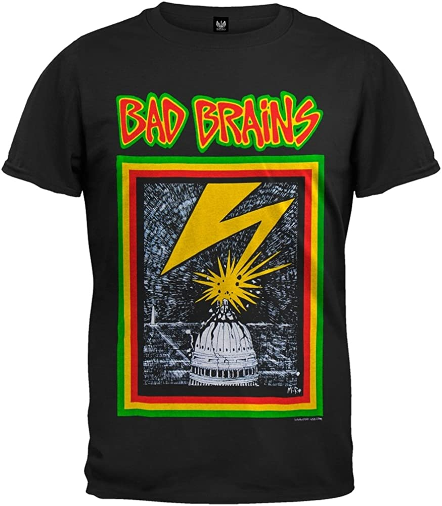 Old Glory Bad Brains - Mens Capitol T-Shirt