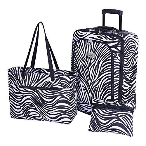 3 Piece Zebra (Verdi 3-Piece Travel Set (Zebra))