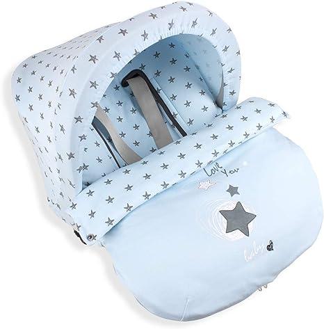 Don Algodón Saco Universal Grupo 0 Estrella Azul: Amazon.es: Bebé