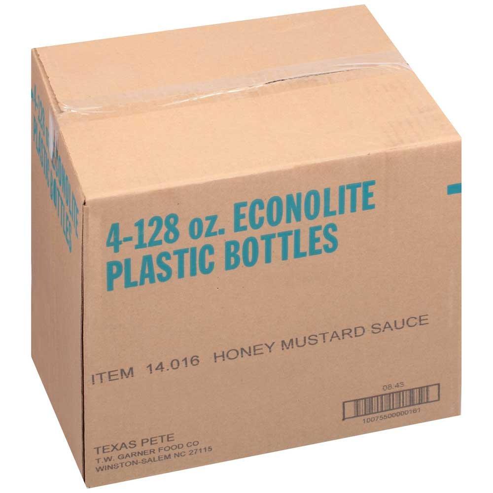 Texas Pete Honey Mustard Sauce, 1 Gallon -- 4 Case