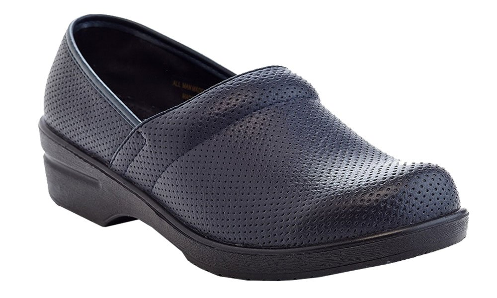 Rasolli Women's Perforated Slip On Clogs Mules by Rasolli (Image #1)