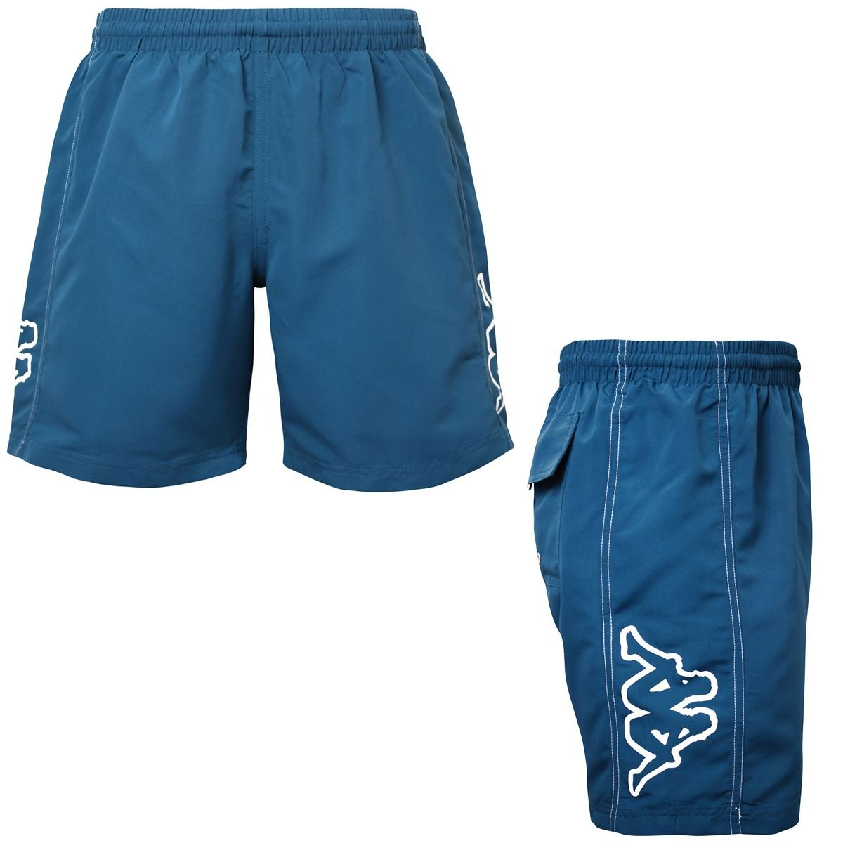 04be83ccd Kappa Men's Swimming Shorts Blue Blue Petrol - Blue - Medium: Amazon ...