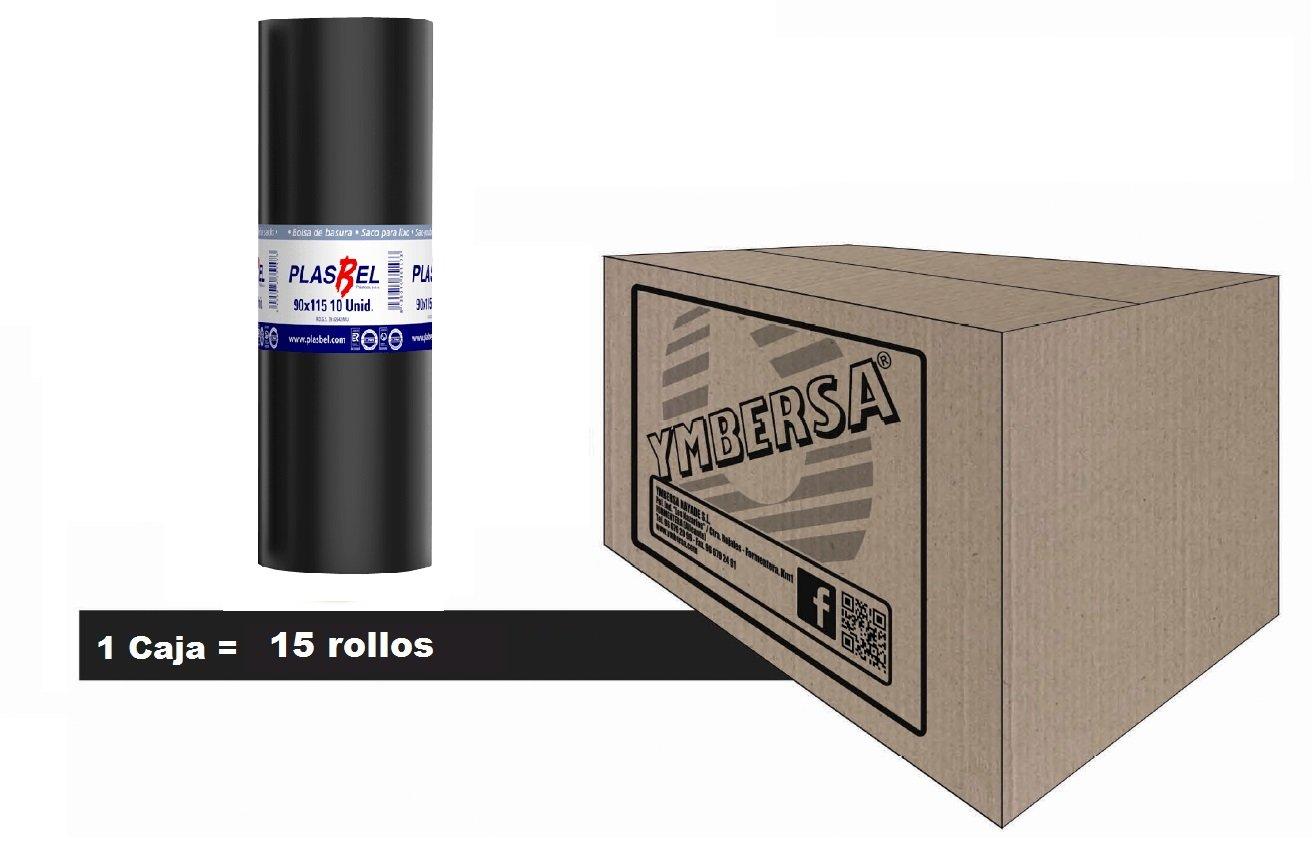 Caja bolsa basura 150 Litros - 90x115 cm. Extra grande ideal ...