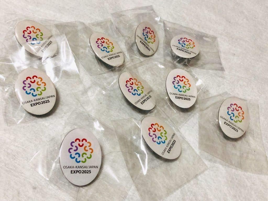 非売品 大阪万博 ピンバッジ 10個セット EXPO 2025
