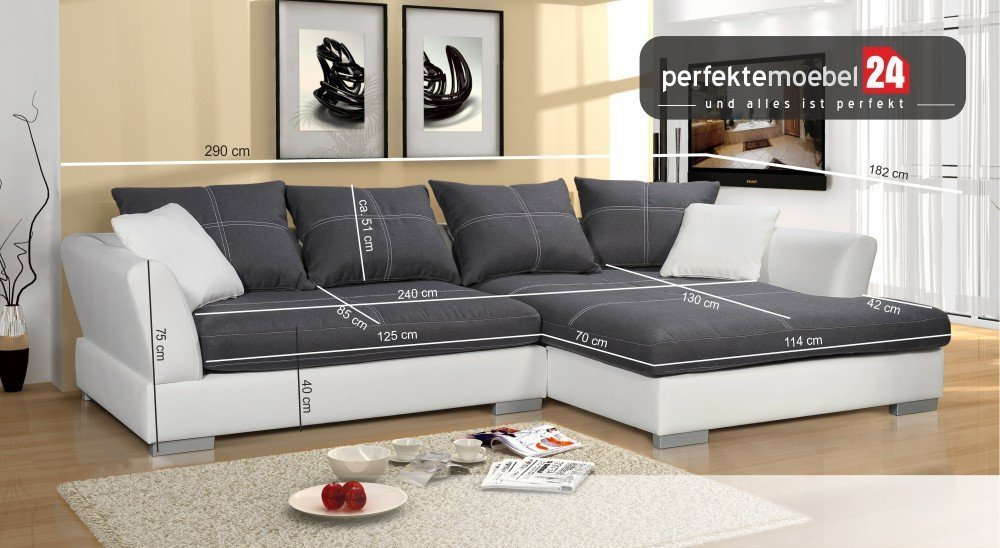 couch eckcouch sitzsofa sofa polster ecke wohnlandschaft. Black Bedroom Furniture Sets. Home Design Ideas