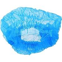 Artibetter 200PCS Bouffant Caps Disposable Hair Nets Stretch Head Cover Non-Woven Medical Cap for Beauty Salon Food…