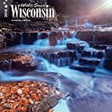 Wisconsin, Wild & Scenic 2018 12 x 12 Inch Monthly Square Wall Calendar, USA United States of America Midwest State Nature