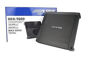 Alpine BBX-T600 - amplificadores para coche