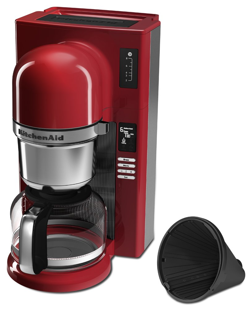 Kitchenaid Kcm0802er Pour Over Coffee Brewer Empire Red