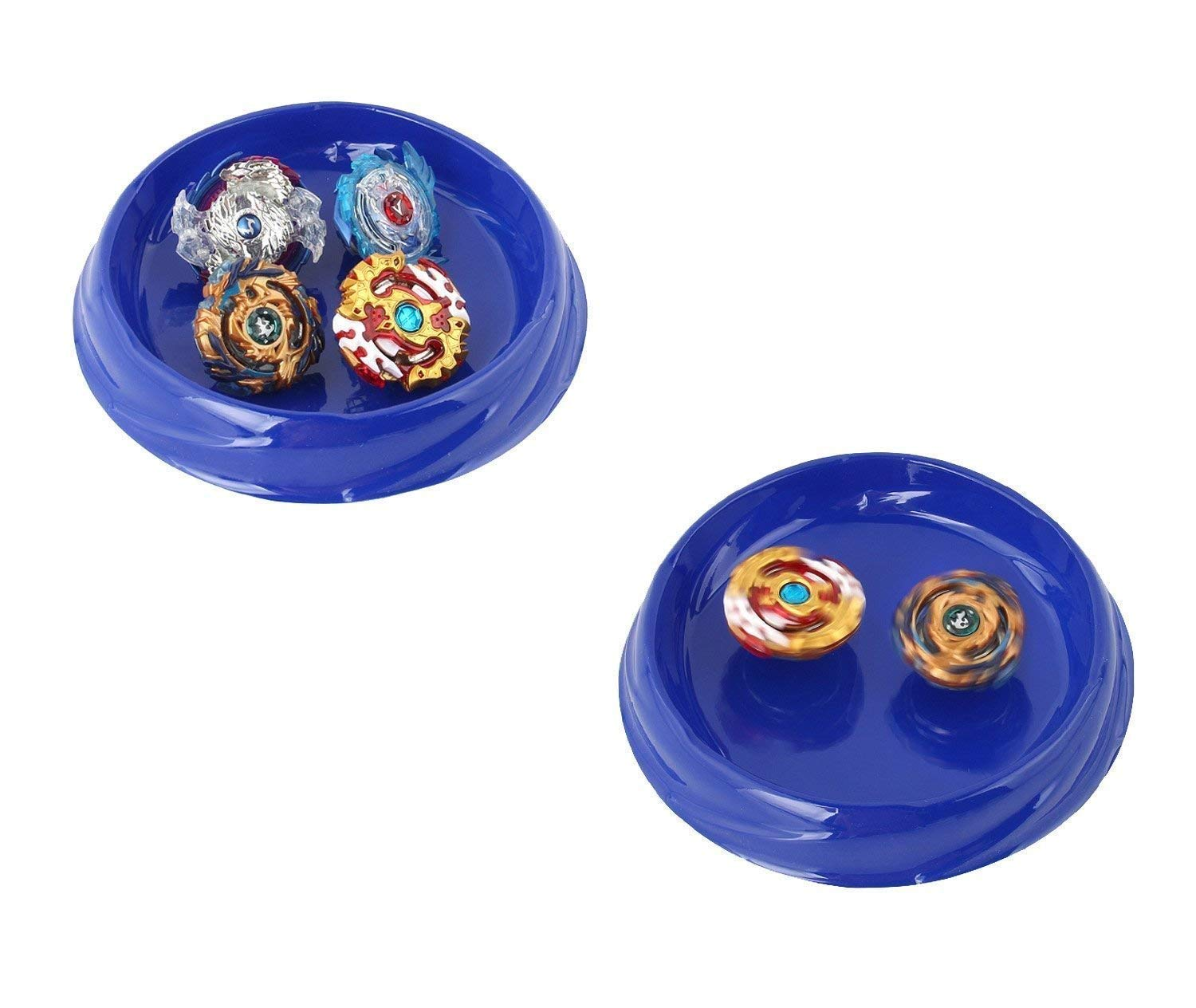 Bey Burst Starter 4 in 1 Battling Top Fusion Metal Master Rapidity Fight with 4D Launcher Grip Se by FirstToy