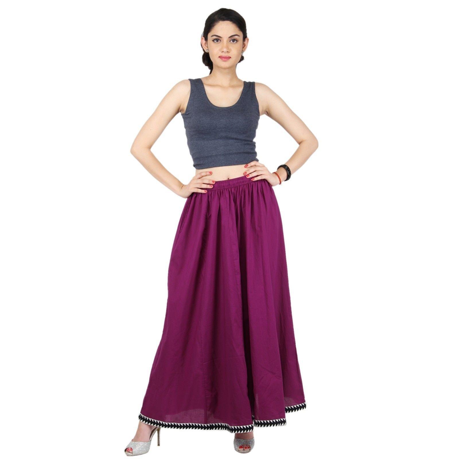 Purple Cotton Extra Wide Leg Pant, Divider Palazzo Pant, Harem, Comfy Skirt