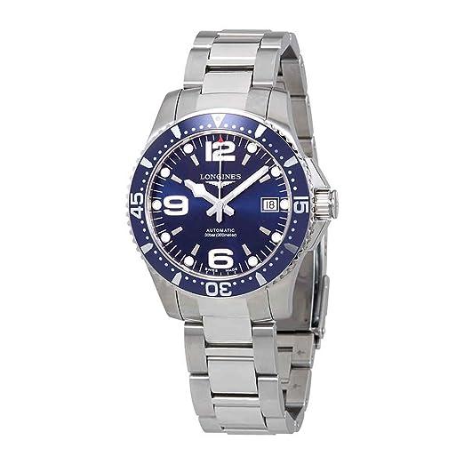 LONGINES RELOJ DE HOMBRE AUTOMÁTICO CORREA Y CAJA DE ACERO L37414966: Amazon.es: Relojes