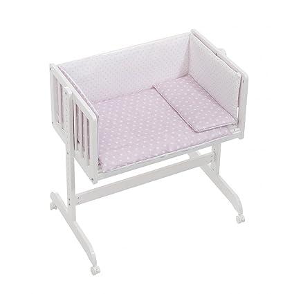 Pispas 1703496031 - minicuna colecho con coordinado textil