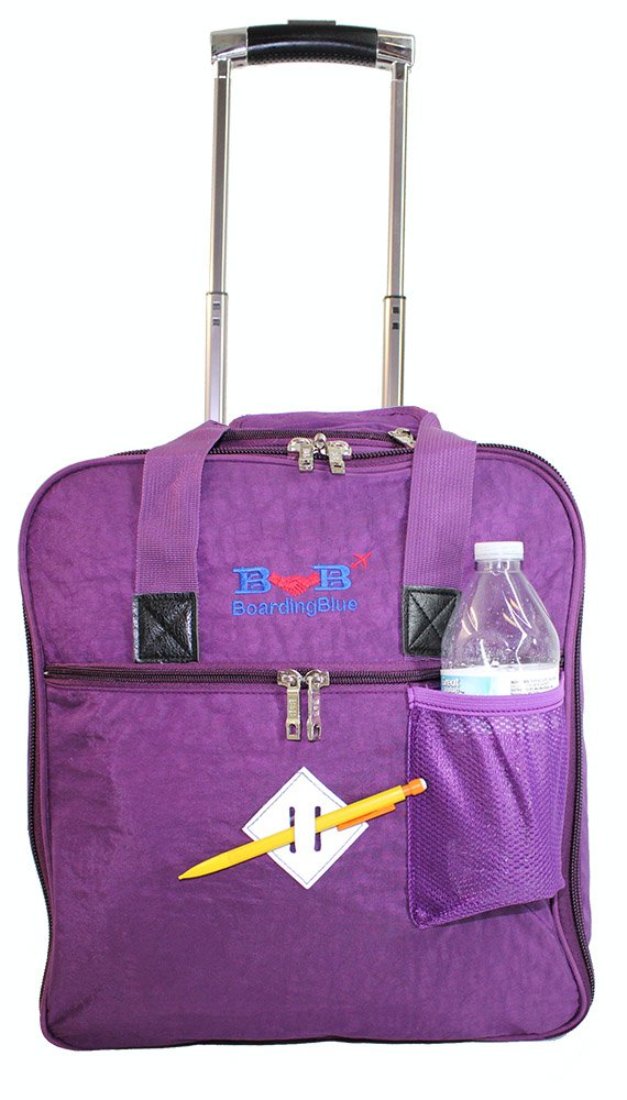 New BoardingBlue Allegiant Air Rolling Free Personal item Under Seat (Purpple)