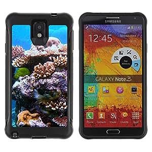 "Hypernova Defender Series TPU protection Cas Case Coque pour SAMSUNG Galaxy Note 3 III / N9000 / N9005 [Planta Naturaleza Forrest Flor 111""]"