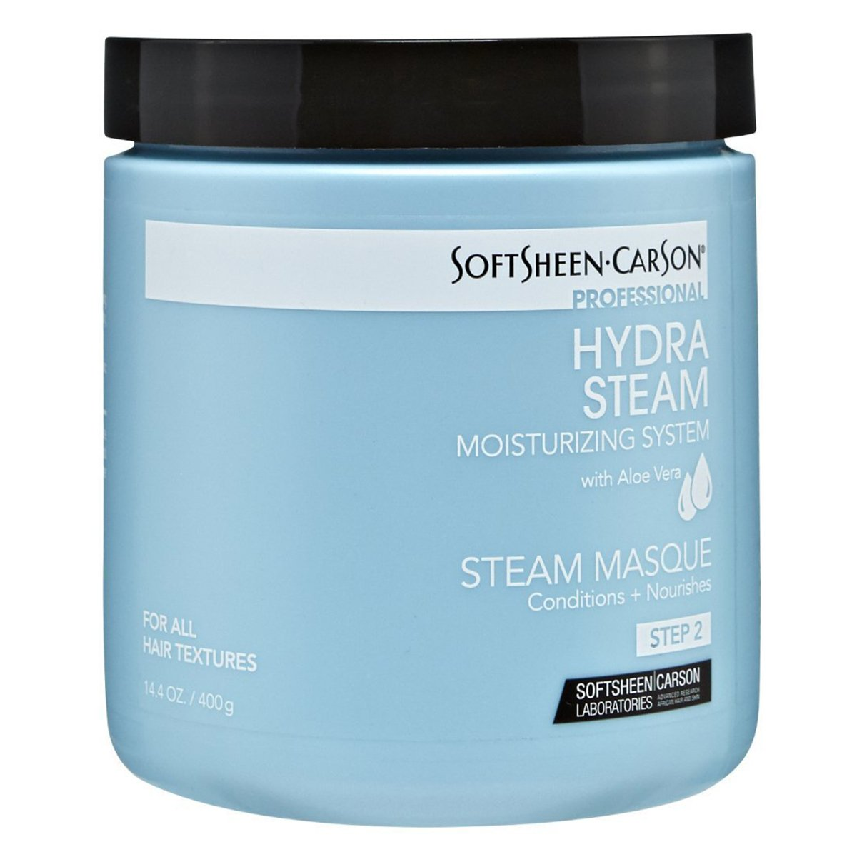[SoftSheen Carson] HYDRA STEAM MOISTURIZING SYSTEM STEAM MASQUE 14.4OZ