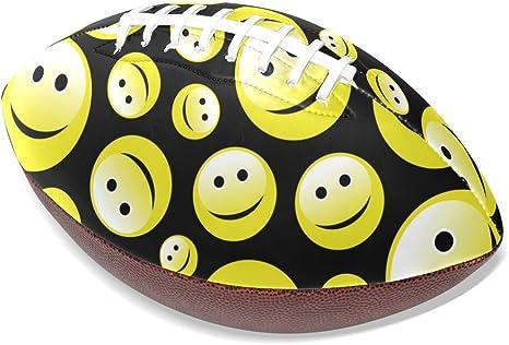 deyya personalizado Emoji Smiley deportes Grip-Rite fútbol RUGBY ...