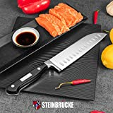 Santoku Knife - STEINBRÜCKE Kitchen Knife 7 Inch