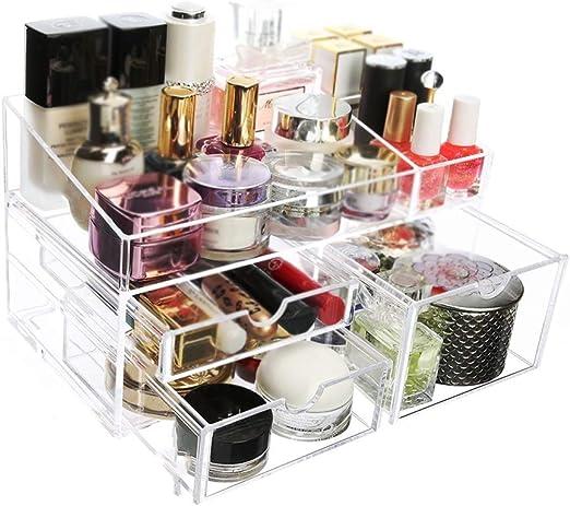Organizador Maquillaje de almacenamiento Maquillaje Organizador ...