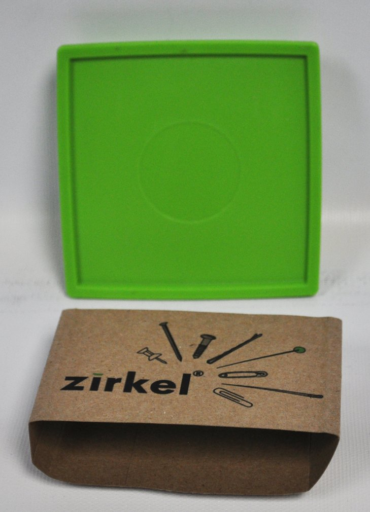 Zirkel Magnetic Pin Cushion Lime Green Zirkel Magnetic Organizer