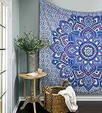 Popular Ombre Mandala Tapestries Hippy Hippie Wall Hanging Wall Tapestries Indian Mandala Tapestries Bohemian Tapestry Sofa Cover Beach Blanket Dorm Decor Wall Art By Popular Handicrafts