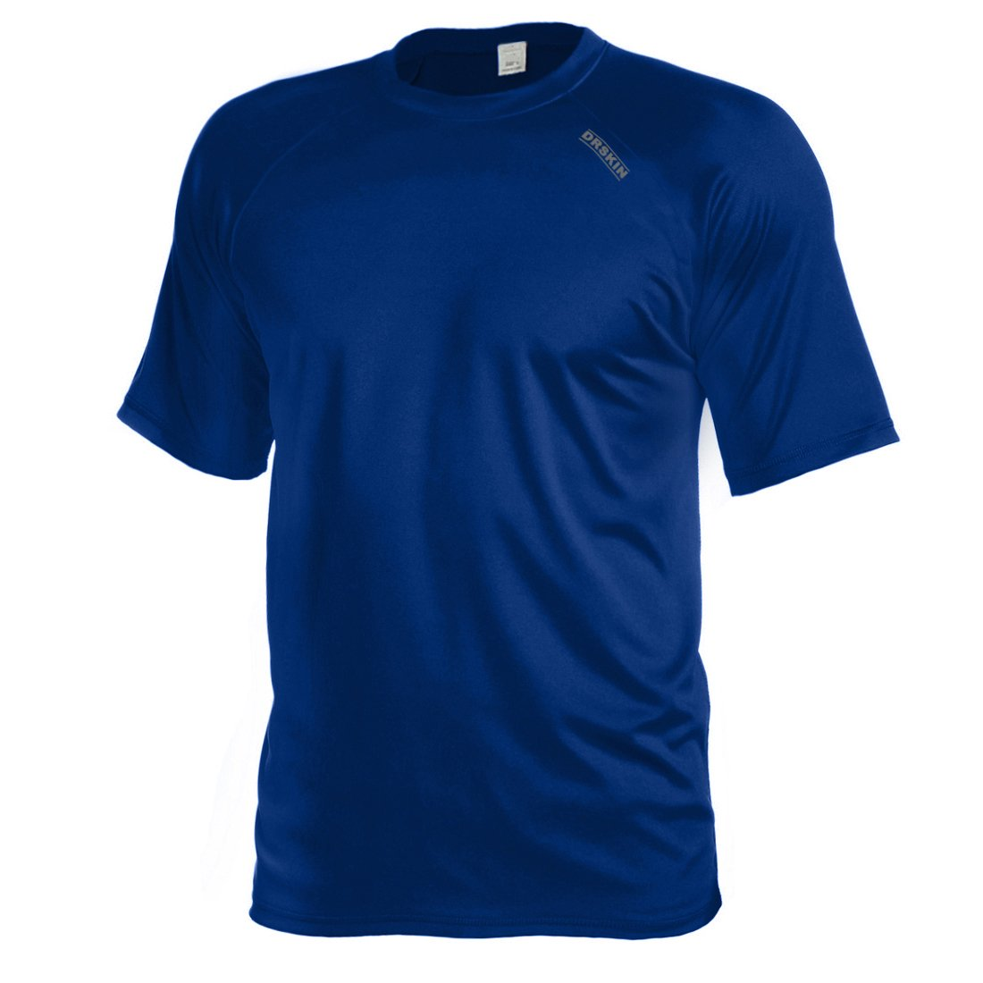 DRSKIN Cool Dry Short Sleeve Men Rash Guards UPF 50+ (BSSN04, L)