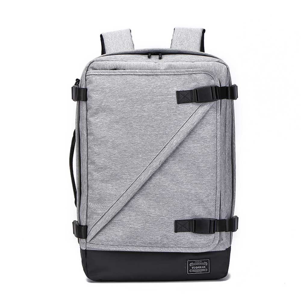 Tuguan Laptop Backpack,Water Resistant, Business College and Traveling Luggage with USB Charging Port for Men and Women,Fit for 17Inch Laptop and Notebook (grey)