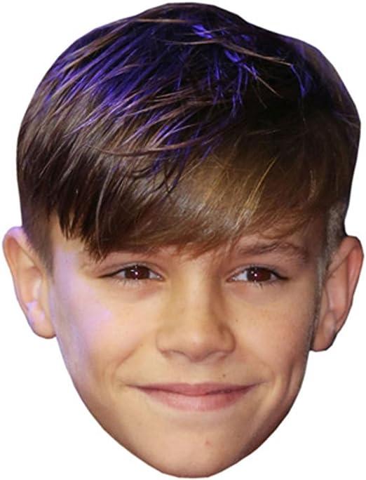 Celebrity Mask 2016 David Beckham Card Face and Fancy Dress Mask