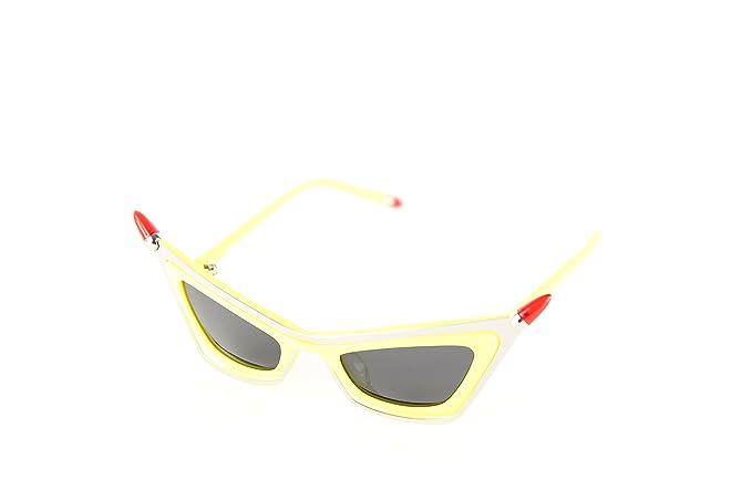 Moschino MO-822S-04 Gafas de Sol, Yellow, 48 para Mujer ...