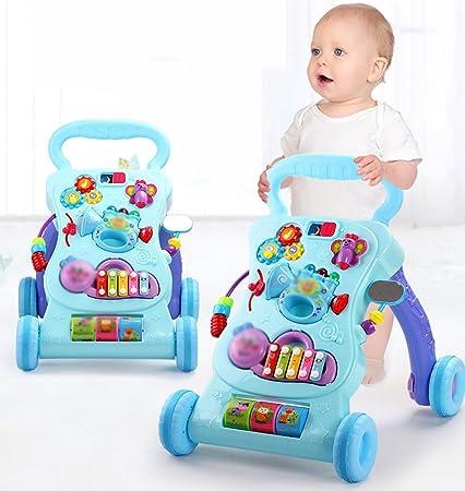 Andador para Bebés Prevent Rollover multifunción con carrito ...