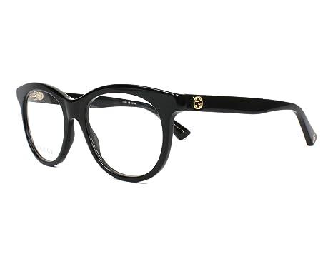 98f17563e1 Lunettes de vue Gucci GG 0167 O 001: Amazon.fr: Vêtements et accessoires