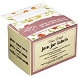 KitchenCraft Jam Jar Labels, White, Pack of 100