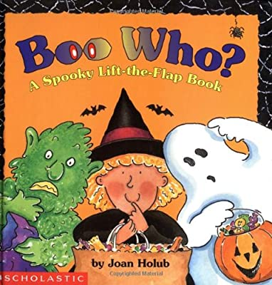 Boo Who A Spooky Lift-the-flap Book from Cartwheel