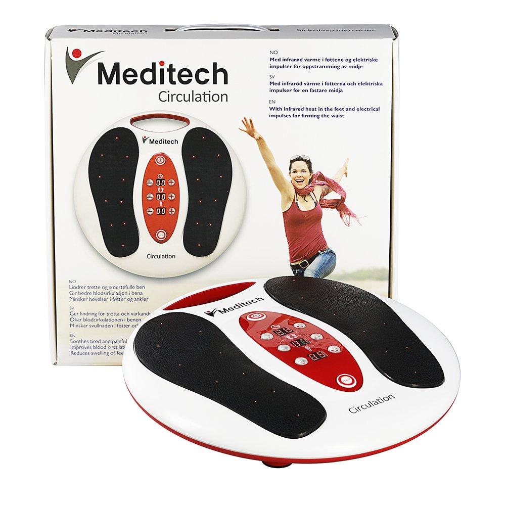 Meditech masajeador de pies electromagnético refuerzo de la circulación de la vitalidad