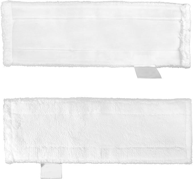 Lote de 2 almohadillas de microfibra de repuesto y 2 pa/ños de microfibra para K/ärcher SC4//SC3//SC5//SC2
