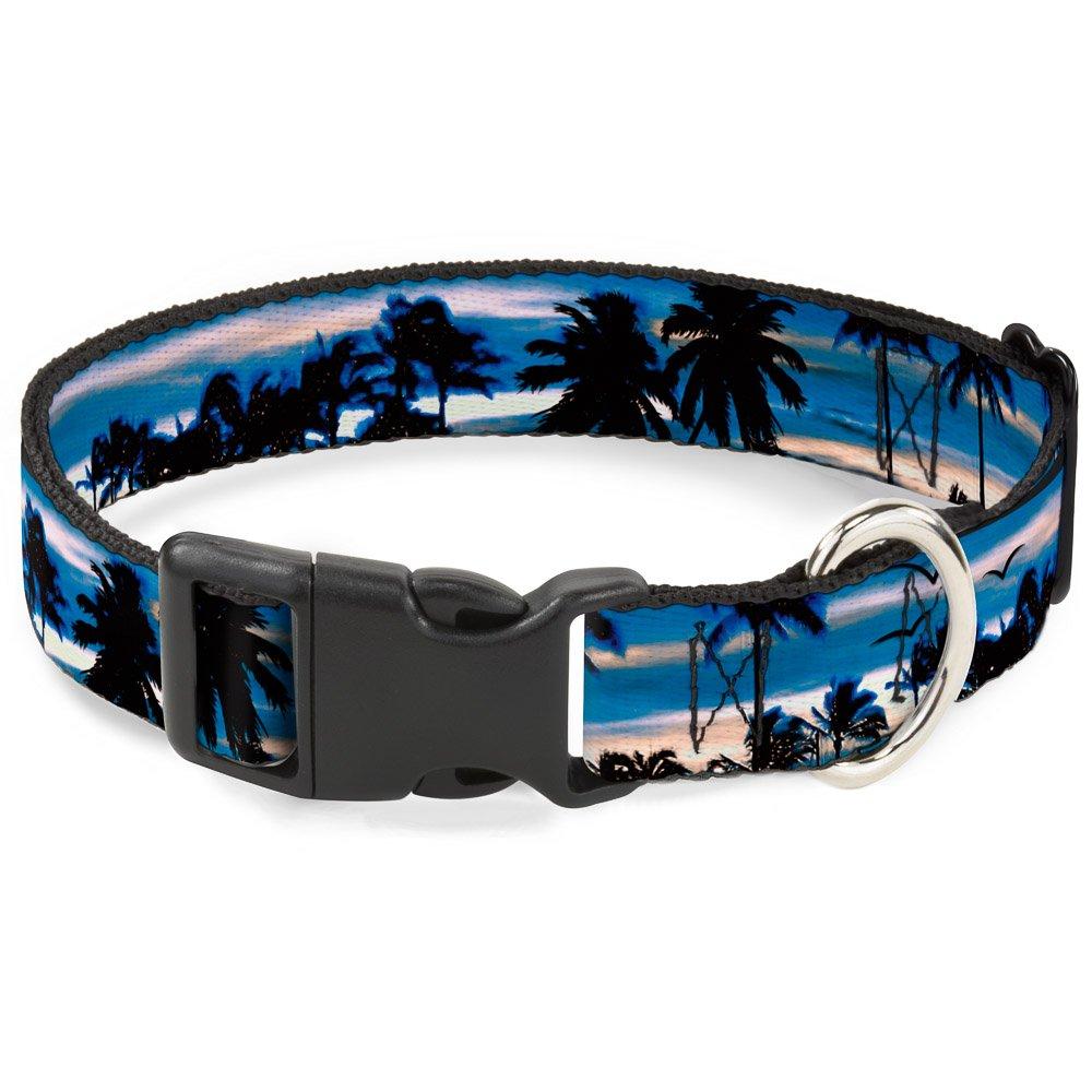 bluee Sunset 15-26\ bluee Sunset 15-26\ Buckle-Down PC-W32835-L Dog Collar Plastic Clip Buckle-bluee Sunset-1  X 15-26