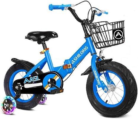 Dsrgwe Bicicleta niño, Bicicletas niños, Plegable de los niños de ...