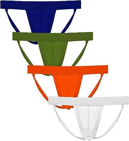 Summer Code Mens Athletic Supporter Performance Jockstrap Elastic Waistband Underwear