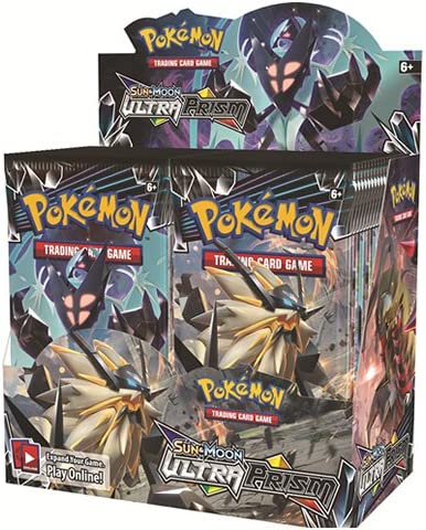 Pokemon Sun And Moon Ultra Prism 3 Pack Booster Packs 10 packs Of Cards