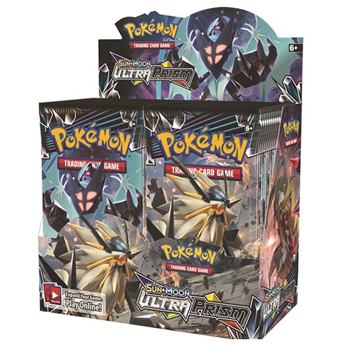 Pokemon Tcg Sun   Moon Ultra Prism Factory Sealed Booster Box   36 Packs