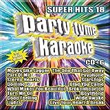 Party Tyme Karaoke - Super Hits 18 [16-song CD+G]